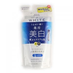 【医薬部外品】モイスチュアマイルド ホワイト ローションM しっとり つめかえ用 160ml|busshouzan