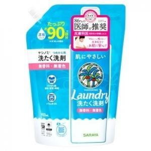 ヤシノミ洗たく洗剤 濃縮タイプ つめかえ用 900ml|busshouzan