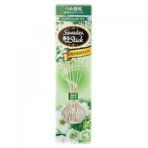 小林製薬 サワデー 香るスティック イングリッシュガーデン つめかえ用 70ml|busshouzan