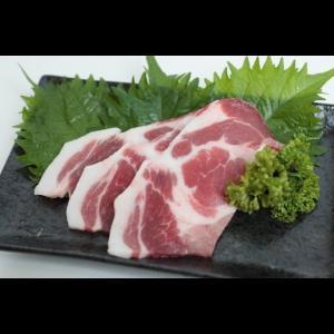 黒豚「匠」【鹿児島産】肩ロース焼肉カット(500g) butcher