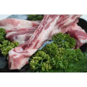 国産骨付き豚バラ(スペアリブ)カット(約500g)冷凍パック butcher