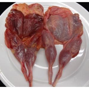 うずら正肉骨付きもも(4羽入/約250g)【愛知県産】|butcher