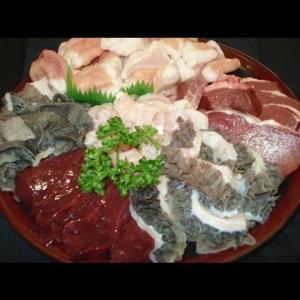 お徳用牛ホルモン盛り合わせ【西日本産】(1Kg入)|butcher