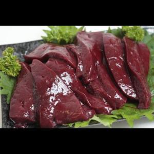 国産牛レバー(西日本産) カット(500g入) 加熱用|butcher