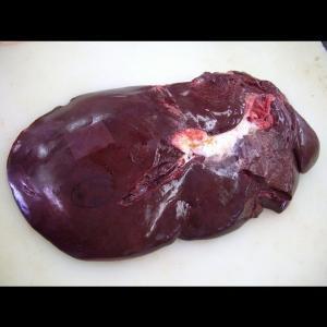激安業務用 国産牛レバー(西日本産)ブロック(10kg)【冷凍】|butcher