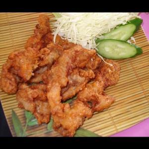 からあげブレンド味付け鶏もも【ぶっちゃー謹製】(500g)|butcher
