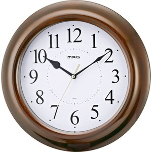 掛け時計 壁掛け時計 掛時計 音の静かな連続秒針 木目調 ア...