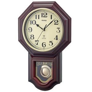 振り子時計 掛け時計 掛時計 壁掛け時計 電波時計 鹿鳴館D...