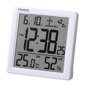 置き時計 置時計 置時計 温度湿度計 日付表示 デジタル カ...