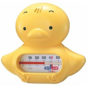 湯温計 湯温度計 おふろの湯温計 風呂用 動物 浮型 うきうきトリオ ヒヨコ TG-5154 イエロ...