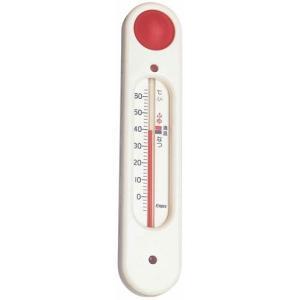 湯温計 湯温度計 おふろの湯温計 風呂用 吸盤付 元気っ子 TG-5101 ホワイト エンペックス ...
