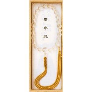 宗派問いません (仏具・珠数・数珠・念珠) 本水晶 品質本位の最高級品 butsudansyokunin
