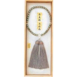 宗派問いません グレーパール小玉 (女性用 仏具 珠数 数珠 念珠) 品質本位の最高級品|butsudansyokunin