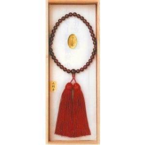 宗派問いません ガーネット小玉 女性用 (仏具 珠数 数珠 念珠) 品質本位の最高級品|butsudansyokunin