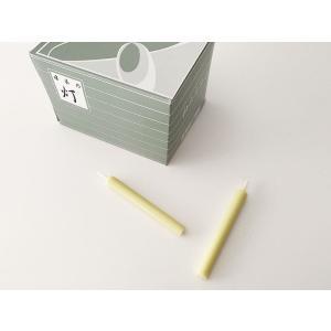 和ろうそく 和ロウソク   和蝋燭 生・棒型 1号 100本入 約7cm|butsudansyokunin