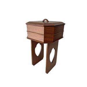 寺院用 仏具(その他)  献菓子器 〈欅 〉 butsudansyokunin