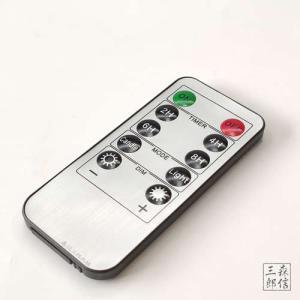 【メール便200円】LEDローソク「灯ととなり」専用リモコン (タイマー・調光機能つき) ( テスト用ボタン電池付属)|butsuguya