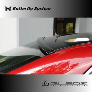CROWN ROYAL クラウン ロイヤル GRS200系  エアロパーツ リアバイザー リアスポイラー 【GLANZ】 塗装なし butterfly-system
