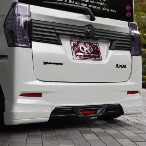 LA600S タントカスタム エアロパーツ リアハーフスポイラー リアスポイラー【GLANZ】 純正塗装済商品 全車|butterfly-system