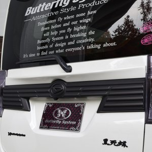 LA600S タントカスタム エアロパーツ リアトランク ウィング ハネ リアスポイラー【GLANZ】 純正塗装済商品 全車|butterfly-system