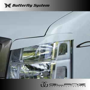 DA17W エブリィワゴン エアロパーツ アイライン ヘッドライトカバー 【GLANZ】 塗装なし|butterfly-system
