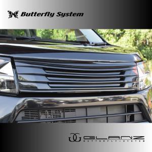 LA150S ムーヴカスタム フロントグリル エアロパーツ 【GLANZ】 塗装なし 後期|butterfly-system