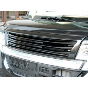 LA600S タントカスタム エアロパーツ フロントグリル 【GLANZ】 塗装なし 全車|butterfly-system