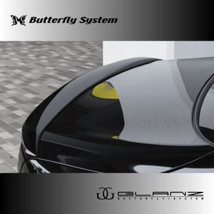 LEXUS LS460 LS600 エルエス USF40 USF41 UVF45 UVF46  エアロパーツ リアウィング  【GLANZ】 純正塗装済商品 前期|butterfly-system