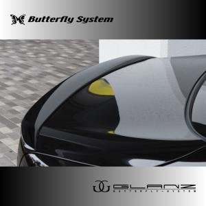 LEXUS LS460 LS600 エルエス USF40 USF41 UVF45 UVF46  エアロパーツ リアウィング  【GLANZ】 塗装なし 前期|butterfly-system
