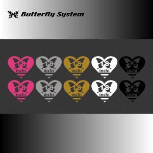 18インチデカール|butterfly-system