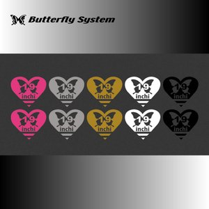 19インチデカール|butterfly-system