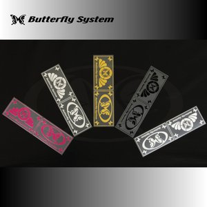 【アウトレット】プレートレーベル|butterfly-system