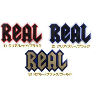 REAL ( リアル ) Deeps ロゴステッカー サイズ:ミディアム (スケートボード スケボー SK8 DLX デラックス シール ステッカー)|butterflygarage