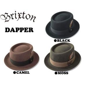 BRIXTON ( ブリクストン ) DAPPER ( スケートボード スケボー 帽子 ハット ストロール ダッパー フェドラー )|butterflygarage