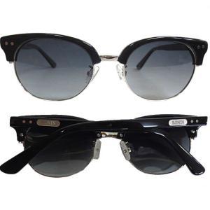 Ronin Eyewear ( ロニンアイウェアー ) 50/50 ミディアム シャインブラックフレ...