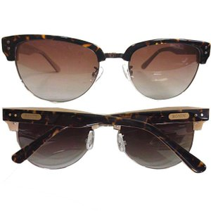 Ronin Eyewear ( ロニンアイウェアー ) 50/50 ミディアム ベッコウツートンフレ...