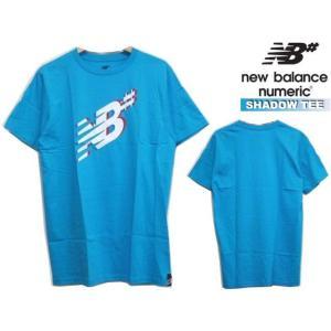 ラスト1枚ニューバランス ヌメリック Tシャツ new balance SHADOW TEE スケボー スケートボード 半袖 butterflygarage