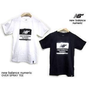 ニューバランス ヌメリック Tシャツ new balance numeric OVER SPRAY TEE スケボー スケートボード 半袖 butterflygarage
