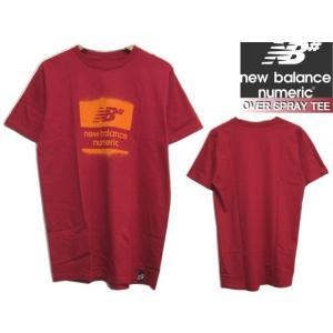 ニューバランス ヌメリック Tシャツ new balance OVER SPRAY TEE スケボー スケートボード 半袖 butterflygarage