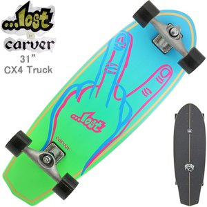サーフスケート カーバー ロスト Lost x Carver 31