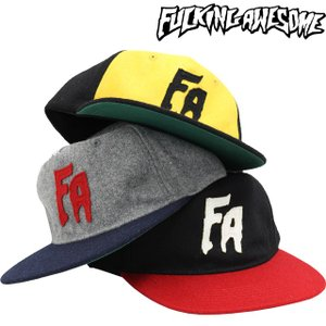 FUCKING AWESOME ファッキンオーサム メンズ アパレル キャップ Classic FA Logo Hat|butterflygarage