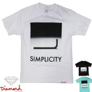 Diamond SUPPLY.CO ( ダイヤモンド サプライ ) Simplicity S/S Tee ( スケートボード スケボー スケーター ストリート ブランド メンズ 半袖 Tシャツ ウエア )|butterflygarage