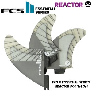 FCS フィン エフシーエス サーフィン FCS2 Reactor Performance Core Carbon PCC Tri Set butterflygarage