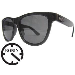 Ronin Eyewear ( ロニンアイウェアー ) The Curse シャインブラック×スモークポーラ ( スケートボード スケボー サーフィン ステッカー サングラス ロニンアイ|butterflygarage