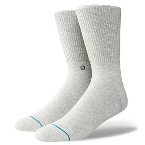 スタンス ソックス ファッション アイコン グレー Stance Socks FashionIcon Grey 定番スタイルモデル 1足セット メンズ L 25.5-29.0cm  メンズ ファッション 靴|butterflygarage