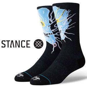スタンス ソックス  Stance Socks 靴下 Grime メンズ L 25.5-29.0cm  メンズ ファッション 小物|butterflygarage
