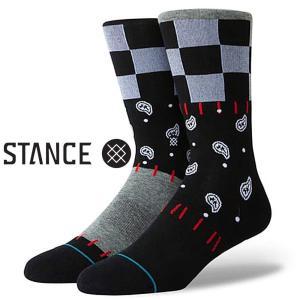 スタンス ソックス  Stance Socks 靴下 Discontent メンズ L 25.5-29.0cm メンズ ファッション 小物|butterflygarage