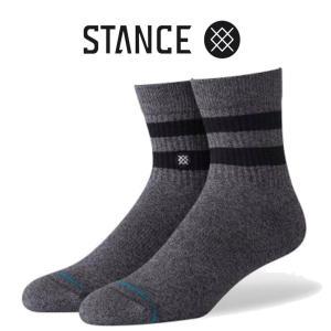 日本限定モデル スタンス ソックス 靴下 ジョヴァン クォーター  Stance Socks Joven QTR Black 限定モデル 1足セット メンズ L 25.5-29.0cm  メンズ ファッショ|butterflygarage