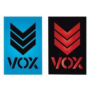 VOX (ヴォックス) VOX Logo Sticker(スケートボード,スケボー,SK8,ステッカー,ヴォックス,ボックス)|butterflygarage
