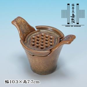 灰がいらない線香立 無灰 金結晶 (香炉は別売りです。外寸10.5cm以上の香炉に入れてお使いください。)|butudan